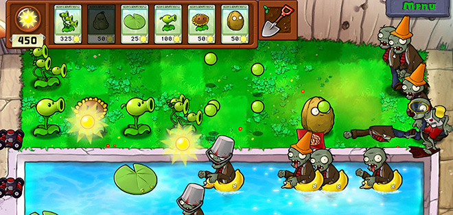 Plants vs Zombies for iPhone (1/2)